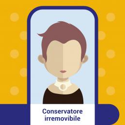 Conservatore irremovibile- consumatore online