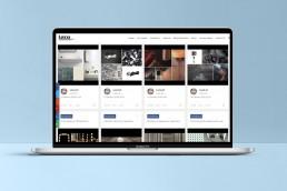 Social wall su materiali per l'interior design