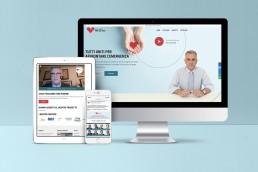 Sito web responsive Associazione Tutti Uniti per la Vita