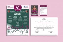Immagine coordinata Centro Studi Yoga Roma