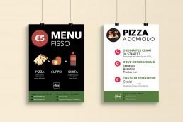 Affissioni punto vendita Alice Pizza