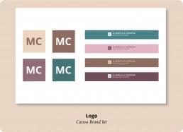logo Canva brand kit