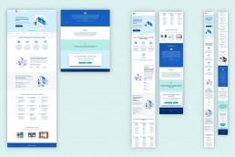 Landing page del marketing medico di ARS