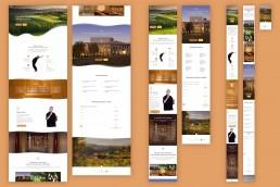 Landing page per eventi di meditazione in Umbria