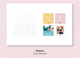 Pattern Canva brand Kit