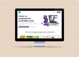 Piattaforma online Canva