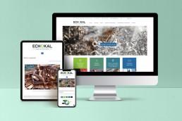 ECHOKAL sito web responsive
