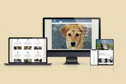 Sito web responsive Associazione Love For Animals