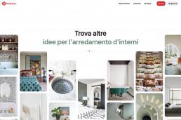 Pinterest feed - design degli interni