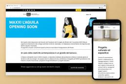 Sito web responsive MAXXI L'Aquila